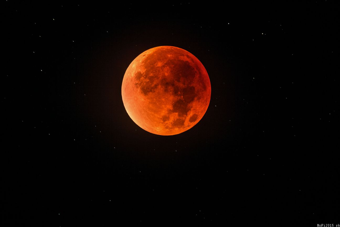 Supermoon Lunar Eclipse 2015 in Bavaria: Full 'Blood Moon' Coverage