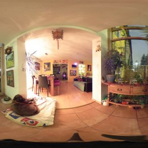 Winter Time in 360 degree view